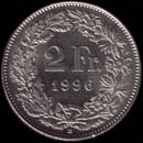 2 francs Switzerland